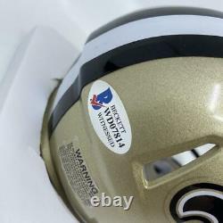 Drew Brees Signed New Orleans Saints Speed Mini-Helmet