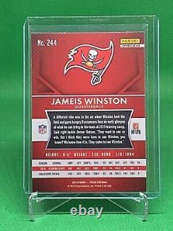JAMEIS WINSTON 2015 Panini Prizm Red SP Rookie RC #244 Saints