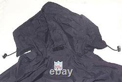 Jacket AND Pant, Coaches GAME ISSUED Sideline Waterproof Rain Suit SAINTS