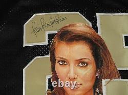 Kim Kardashian Signed Autographed Hand Painted Reggie Bush Saints Jersey