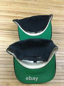 Lot 2 Vintage New Orleans Saints Sports Specialties Wool Script Snapback Hats