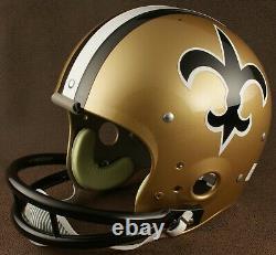 NEW ORLEANS SAINTS 1976-1982 NFL Authentic THROWBACK Football Helmet