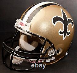 NEW ORLEANS SAINTS 2011 NFL Riddell FULL SIZE Replica Football Helmet
