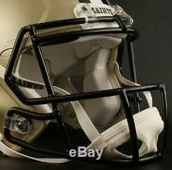 NEW ORLEANS SAINTS NFL Riddell SPEED Full Size Replica Football Helmet