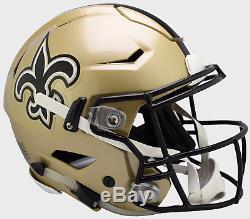 NEW ORLEANS SAINTS NFL Riddell SpeedFlex Full Size Authentic Football Helmet