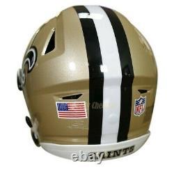 NEW ORLEANS SAINTS Riddell SpeedFlex NFL Authentic Football Helmet