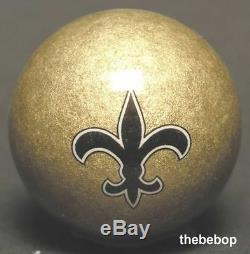 NFL New Orleans SAINTS Billiard Pool Cue Stick & Team Logo Cue Ball Combo NEW
