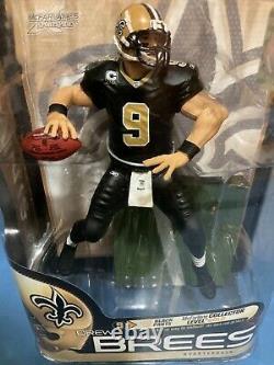 NFL New Orleans Saints Drew Brees / McFarlanes Series 23 / Premier Level