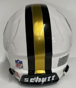 New Orleans Saints Custom Full Size Authentic Schutt Vengeance Football Helmet