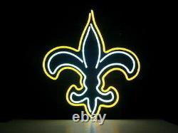 New Orleans Saints Logo Neon Sign 20x16