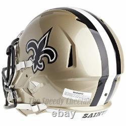 New Orleans Saints Riddell Speed NFL Full Size Replica Football Helmet