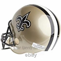 New Orleans Saints Riddell Vsr4 NFL Full Size Replica Football Helmet