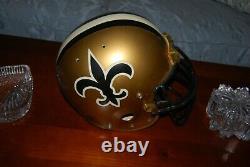 New Orleans Saints Throwback Bike Air Power football helmet