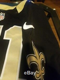 New Orleans Saints manti te'o Game Issued Black Jersey