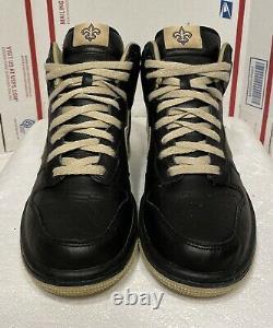 Nike Dunk High ID New Orleans Saints Size 7 535081 901 NFL Low Sb