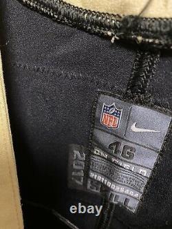 Nike New Orleans Saints 2018 Game Worn Jersey John Phillips #86 Tom Benson Patch