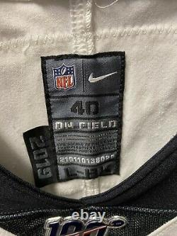 Nike New Orleans Saints Eli Apple 2019 Game Worn Jersey NFL 100th Ohio State