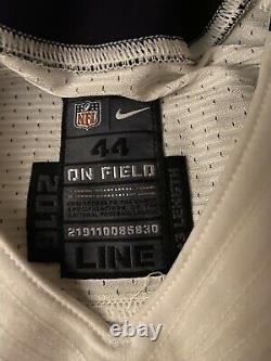 Nike New Orleans Saints Game Issued/Worn Jersey 2016 Mens 44 +3 Length