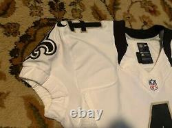 RYAN GRIFFIN New Orleans Saints Nike Game Worn Flywire Size 44 Jersey #4 TULANE