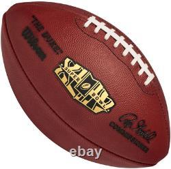 SUPER BOWL XLIV 44 Authentic Wilson NFL Game Football NEW ORLEANS SAINTS