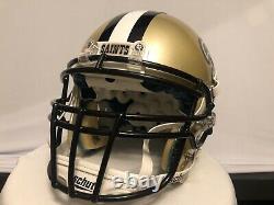Schutt Xp New Orleans Saints Full-size Football Helmet Large