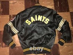 Shain Of Canada Vtg 1980s 1970s Pre Starter NEW ORLEANS SAINTS jacket Coat RARE
