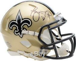 Taysom Hill New Orleans Saints Autographed Riddell Speed Mini Helmet