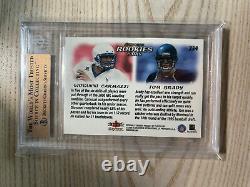 Tom Brady 2000 Skybox Dominion Rookie #234 Bgs 9.5 9.5 X 3 = Psa 10