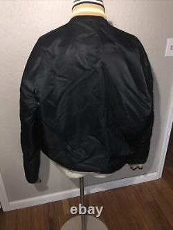 VTG New Orleans Saints NFL Proline Starter Satin Jacket Embroidery Size XL USA
